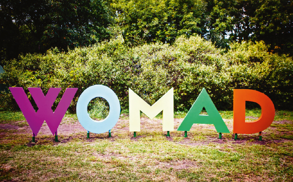 The international music festival WOMAD